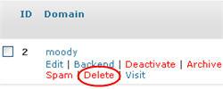 Image of delete