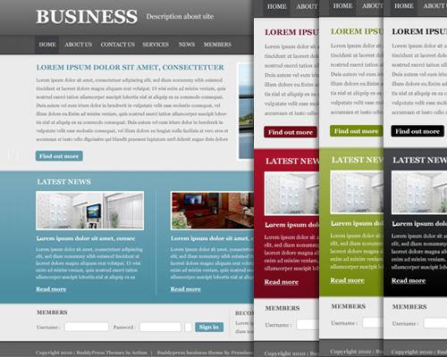BuddyPress Business styles