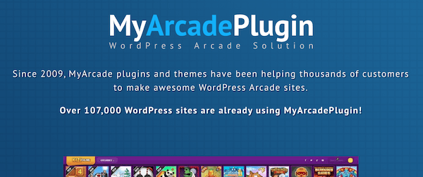 My Arcade Plugin is a great option for those who want more of a gaming portal