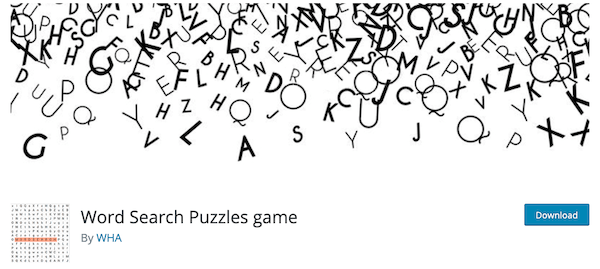 A look at the word search puzzle game