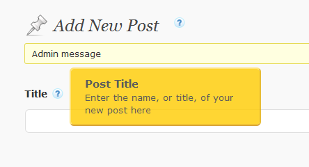 Example of tooltip for wordpress in action