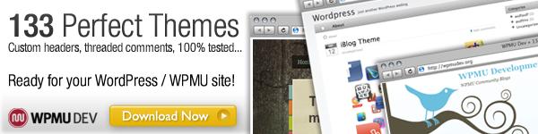 The ultimate WPMU & WordPress Theme Pack