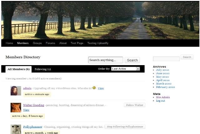 9 Brand New FREE BuddyPress Themes - WPMU DEV