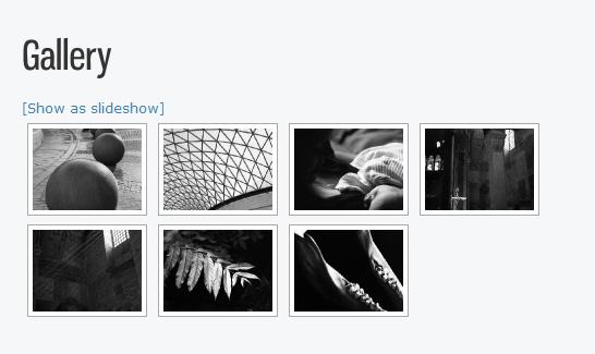 screenshot of nextgen gallery