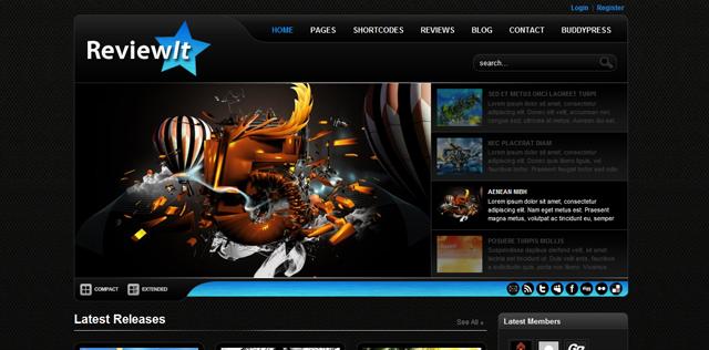 Screenshot of ReviewIt WordPress Premium Theme