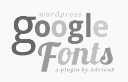 Google fonts plugin logo