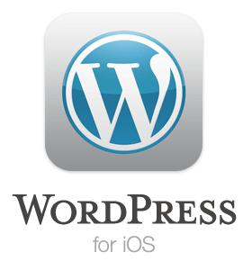 wordpress for iphone logo