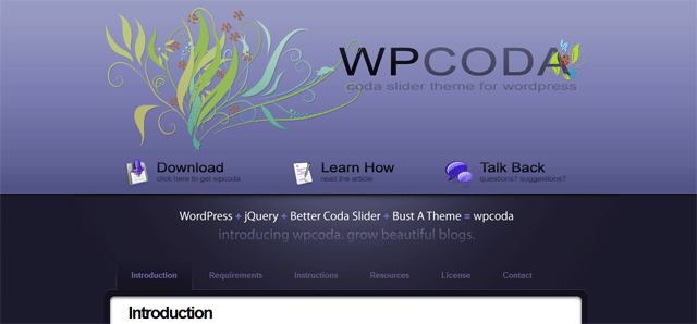 screenshort of wpcoda wordpress plugin