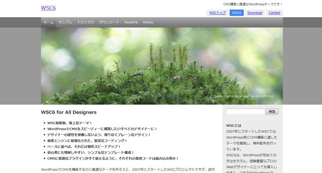 WSC6 WordPress Theme