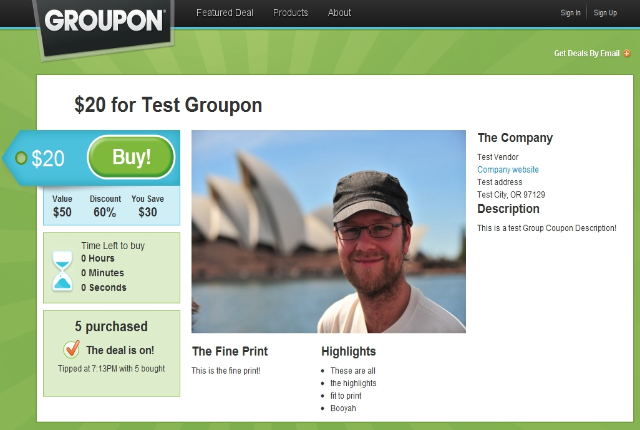 Groupon Clone Plugin for WordPress Now in Beta - WPMU DEV