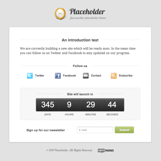 Pick a Pretty Placeholder: New Free WordPress Theme Available From ...