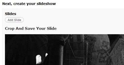 gallery crop slideshow