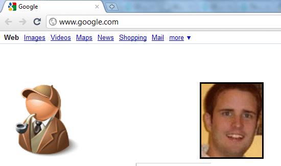 Chrome Incognito screenshot