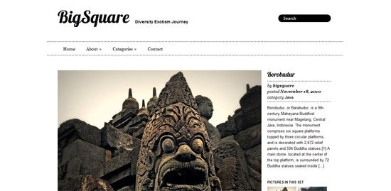 Big Square free wordpress theme