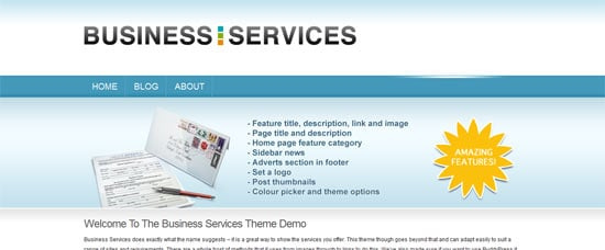 WPMU DEV Business Services free wordpress theme