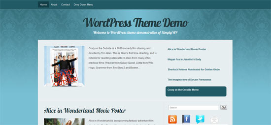 Cyangant free wordpress theme