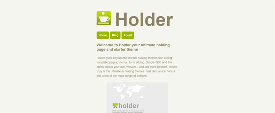 WPMU DEV Holder free wordpress theme