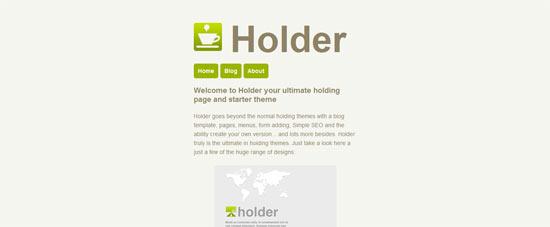 WPMU DEV Holder free wordpress theme