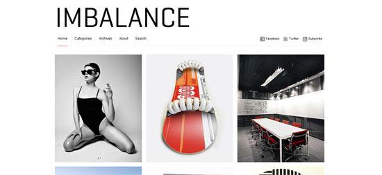 WP Shower Imbalance WordPress Theme