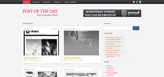 Muse free wordpress theme