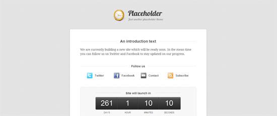 Woo Themes Placeholder free wordpress theme
