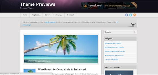 Revista free wordpress theme