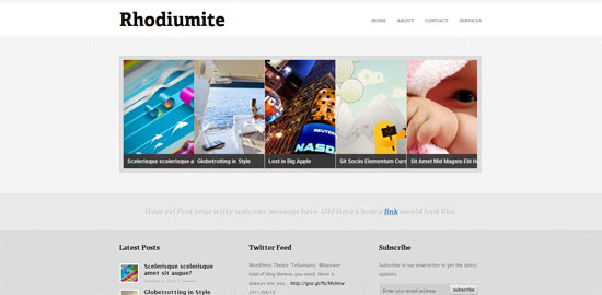 Padd Solutions Rhodiumite free wordpress theme