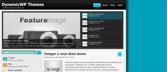 Dynamic WP Saga free wordpress theme