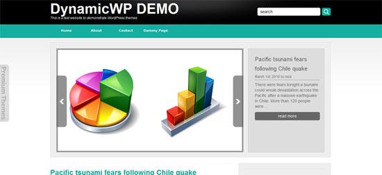 Dynamic WP Somero free wordpress theme