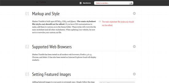 ShakeTumble Easy Docs free wordpress theme