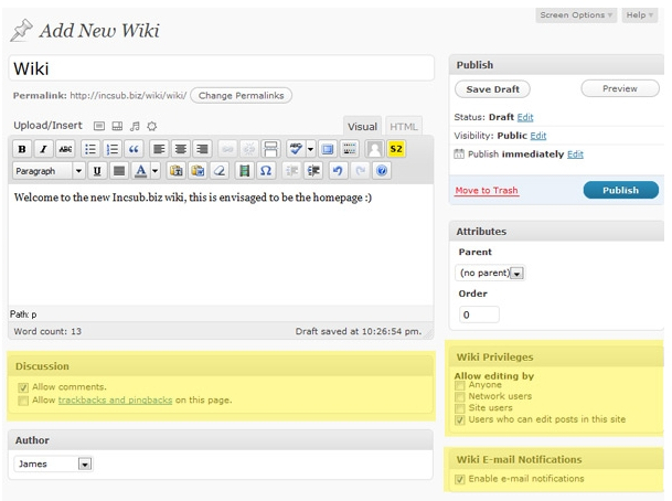 what to major in create your own wikipedia page free