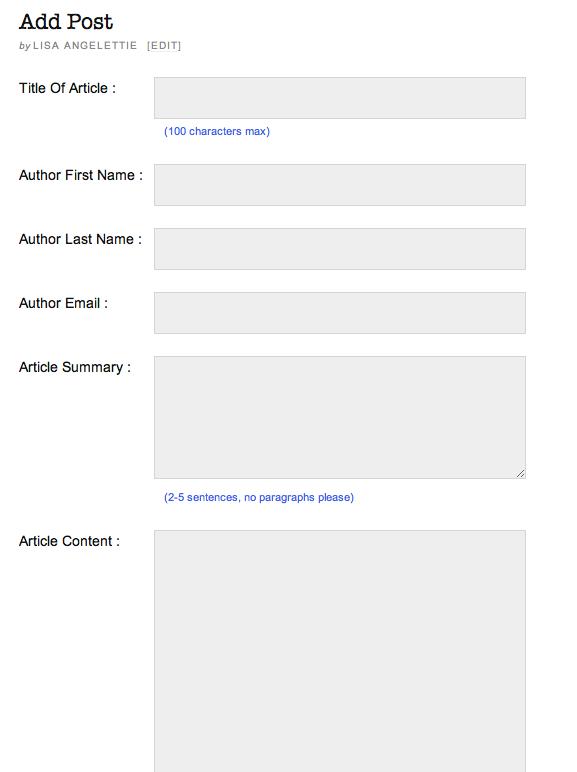 WordPress Guest Post: Plugin Untuk Penulis Tamu