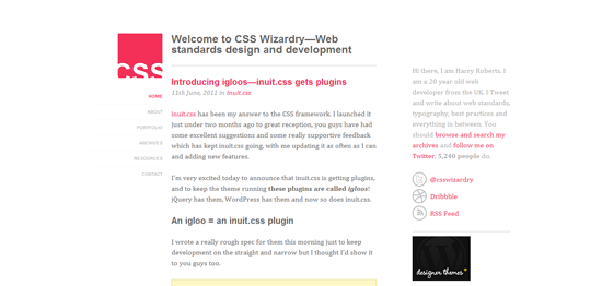 CSS wizardry desktop version