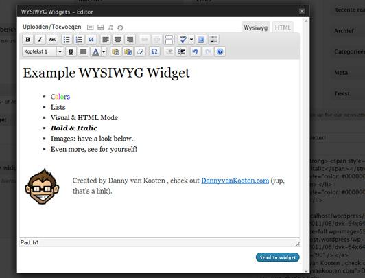 New Plugin Adds a WYSIWYG Editor to Text Widgets in WordPress - WPMU DEV