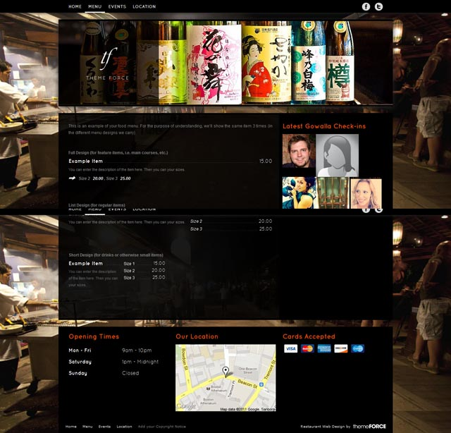 FineForce WordPress Theme for Restaurants