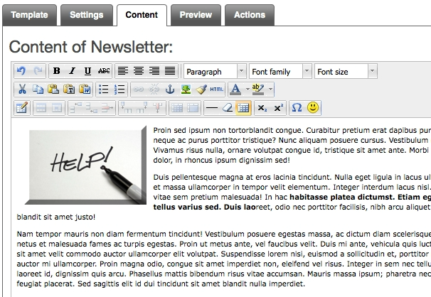 Send html emails with wordpress and the e newsletter plugin wpmu dev you spiritdancerdesigns Images