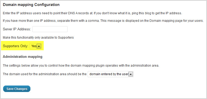Set up domain mapping to work with Pro Sites