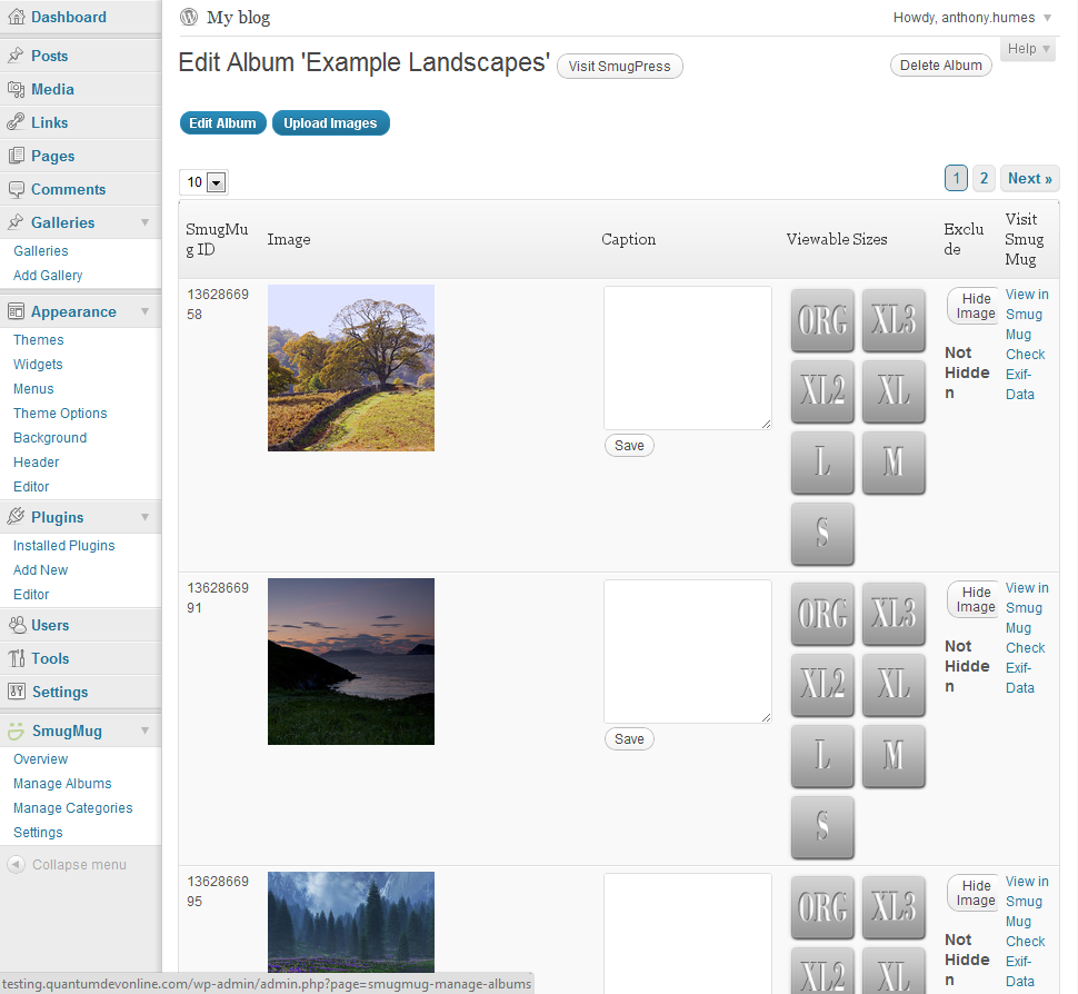 Build your photography business with smugmug for wordpress for Smugmug templates