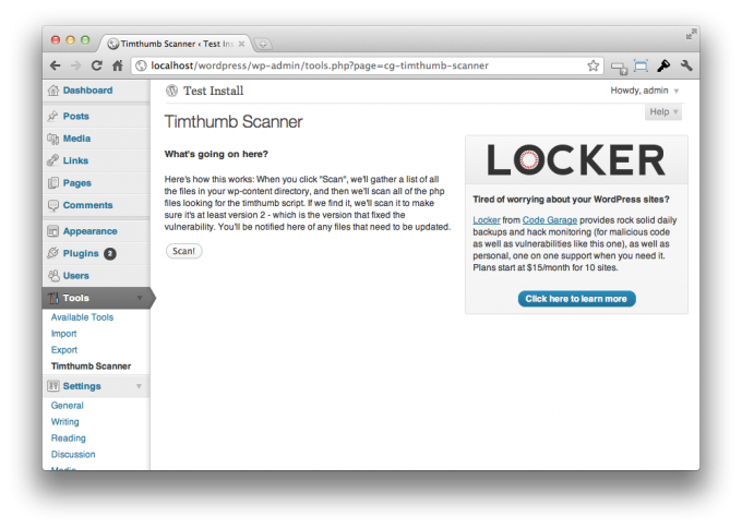 Save Your WordPress Site With the Timthumb Vulnerability