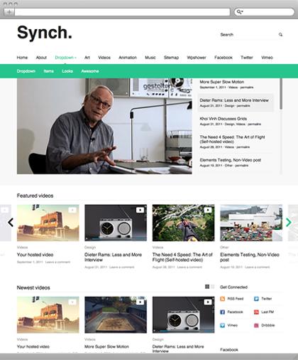 Synch: An HTML5 Video Theme for WordPress - WPMU DEV