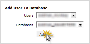 add a new or existing user to your database