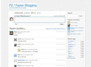 WordPress and social networking Theme