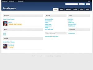 10 Free BuddyPress Themes Compatible with BuddyPress 1 5 - WPMU DEV