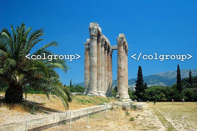 Colgroup