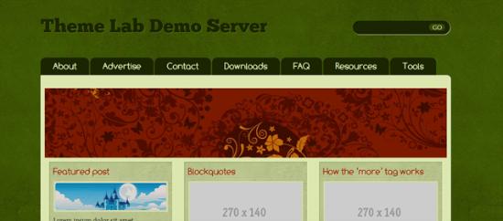 Green Tea Free WordPress Theme