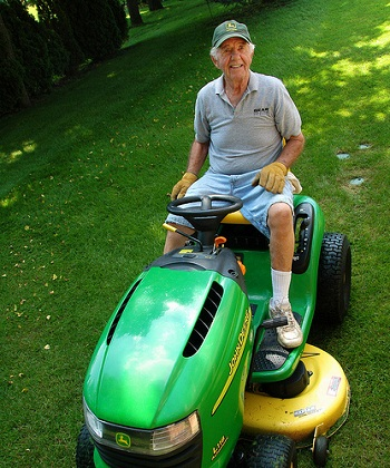 Jim's New Lawnmower