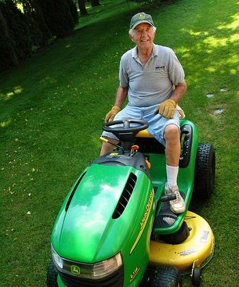 Jim's New Lawnmower