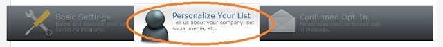 Personalize Your List
