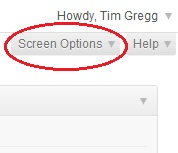 Customize your admin dashboard in WordPress