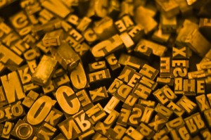 Choosing a font for your writing blog